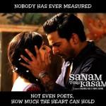"Mawra's film ""sanam Teri Kasam"""