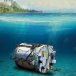 Microsoft Dives Underwater