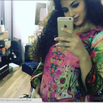 Annie Khalid Shows Off Her Baby Bump In Style!