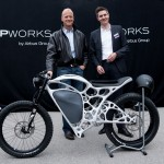 French company 3D Printed Electric Motorbike