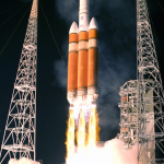 Most Powerful Rocket Set Off To Space Taking American Spy Satellite