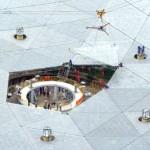 China fits worlds largest radio telescope