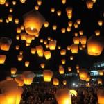 Thousands of Lanterns illuminated Sky in Houston