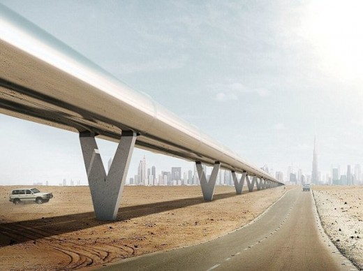 "Manufacturing of fast train ""Hyperloop"""