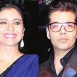 Karan Johar and Kajol