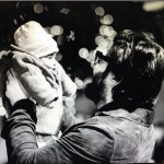 Picture of Fawad Khan with his daughter Elayna