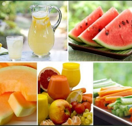 Fruits and Vegetables that protect from heat effects