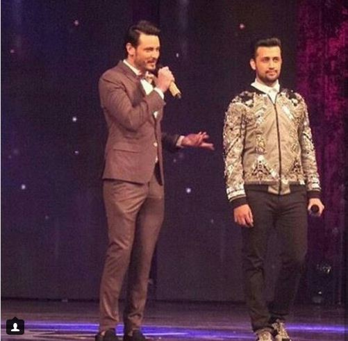 Osman Khalid Butt and Atif Aslam's hilarious hosting