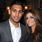 Amir Khan and Faryal Makhdom