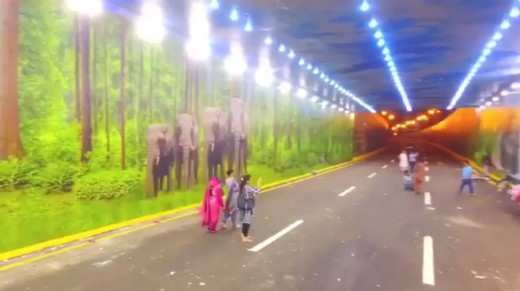Most Creative Underpass in Karachi
