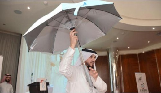 Air Conditioned Umbrellas for Hajj and Umrah