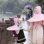 Strange Invention of Chinese, Rain Coat in Umbrella