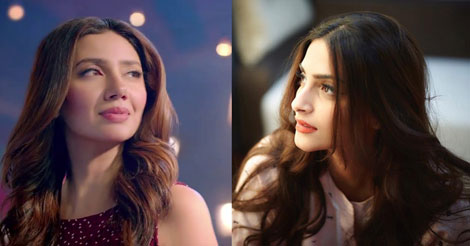 Sonam Kapoor and Mahira Khan