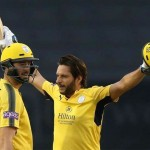 Shahid Afridi in County Cricket