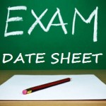Punjab Boards Matric Supply Date Sheet 2017