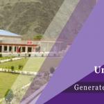 Chitral University Falls Admissions 2017