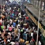 Pak Railway Fare Decrease on Eid