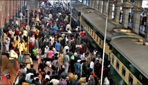 Pak Railway Fare Decrease on Eid