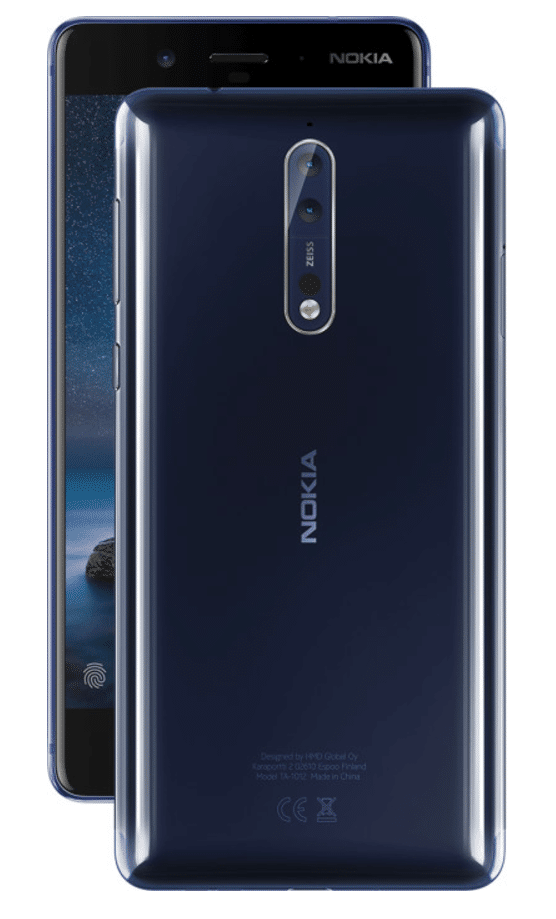 Nokia 8 First Android Flagship Phone