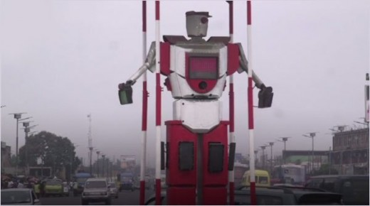 Robots as Traffic Police