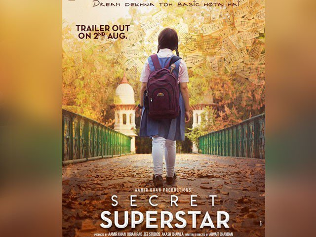 Aamir Khan releases poster of his upcoming film