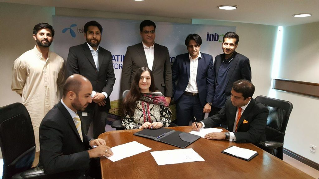 Telenor and Inbox will train farmers together