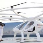 Drone Taxi Trial in Dubai