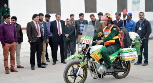 Lahore Motorcycle Ambulance Service