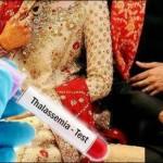 Wedding Registration Thalassemia Test Compulsory