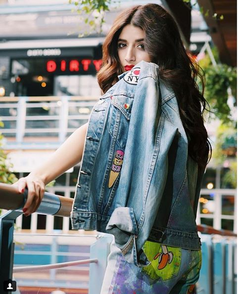 Mawra stylish pictures