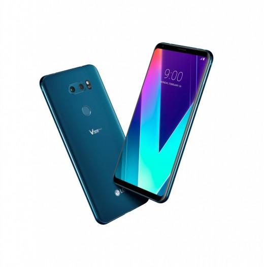 LG V30S ThinQ Morrocan Blue