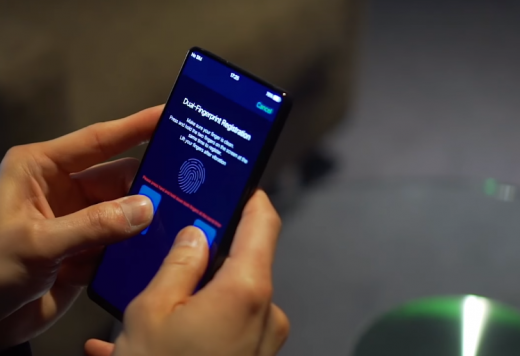 Vivo APEX dual fingerprint scanner