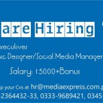 Media Exoress Jobs