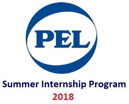 PEL Pakistan Summer Internship Programme