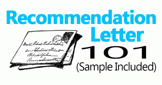 Recomendation Latter Sample