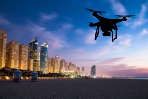 Drone flying Delivery Service of Sehri in Dubai