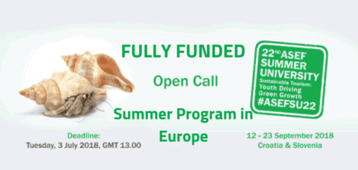 22nd ASEF Asia Europe Foundation Summer University