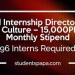 KPK Internship Directorate of Culture