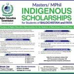 HEC Indigenous Scholarship 2018