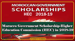 Morocco Government Scholarship 2018-19 (HEC)