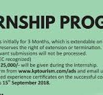 2018 KPK Internship Program For One Year