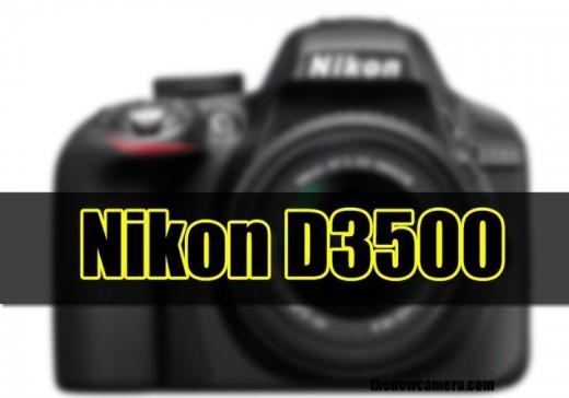 Nikon D3500 new