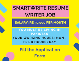 SmartWrite Resume Writer Job