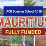 ACU Summer School 2019