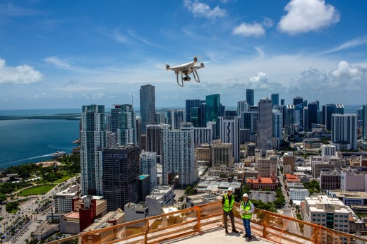 Drone Skyscrape