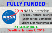 NASA Internship 2019