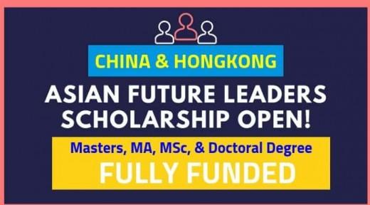 Asian Future Leaders Scholarship Program 2019