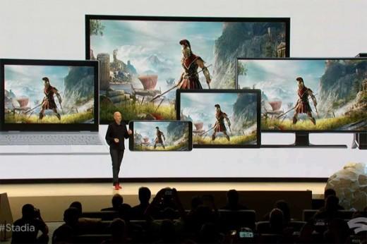 Google Video Game Streaming