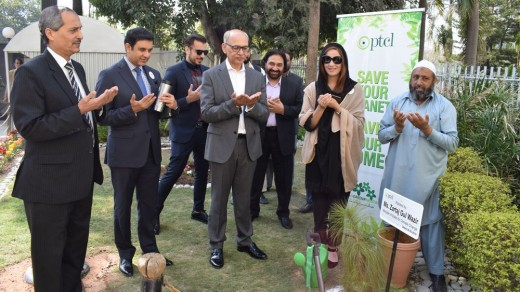 PTCL E-Billing Engages in Greener Pakistan