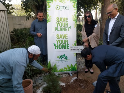 PTCL E-Billing Initiative Engages Customers for a Greener Pakistan